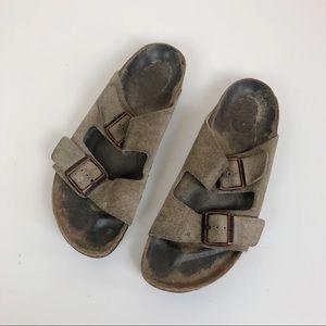 Birkenstock classic double buckle sandal size 9